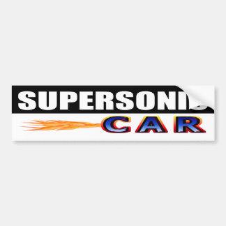 Adesivo De Para-choque Carro supersónico