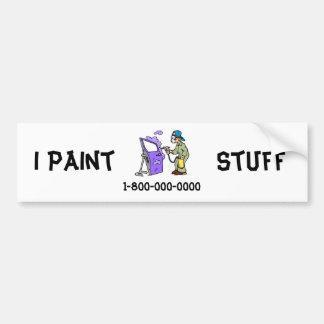 Adesivo De Para-choque Carros da pintura