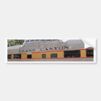 Adesivo De Para-choque Carruagem Railway do Grand Canyon, arizona