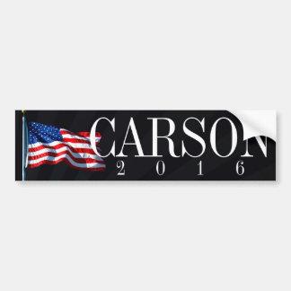 Adesivo De Para-choque Carson 2016 políticos conservadores
