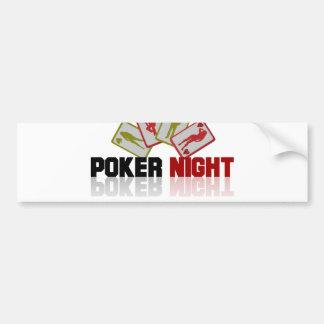 Adesivo De Para-choque Casino do póquer