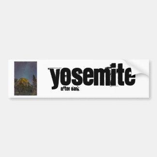 Adesivo De Para-choque Céu nocturno do EL Capitan do vale de Yosemite