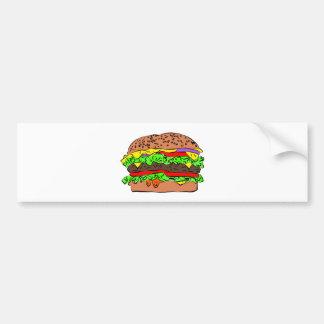 Adesivo De Para-choque Cheeseburger