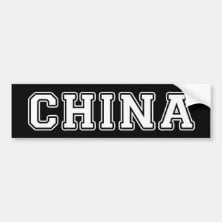 Adesivo De Para-choque China