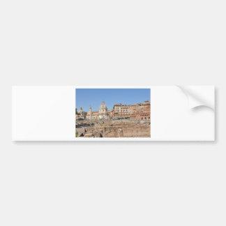 Adesivo De Para-choque Cidade antiga de Roma, Italia