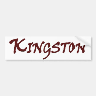 Adesivo De Para-choque Cidade de MÃES de Kingston