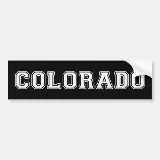 Adesivo De Para-choque Colorado