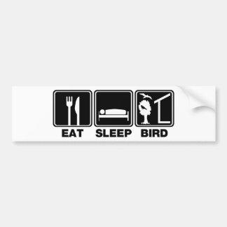Adesivo De Para-choque Coma o pássaro do sono (as cortinas)