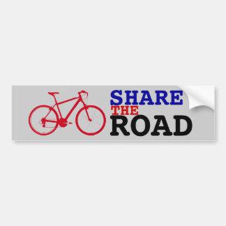 Adesivo De Para-choque compartilhe do biking do ~ da estrada
