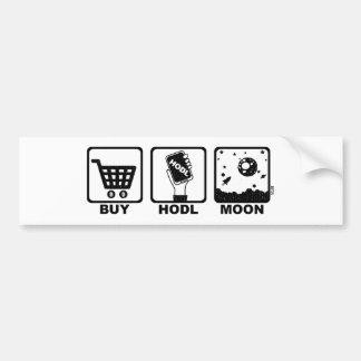 Adesivo De Para-choque Compre a lua de Hodl