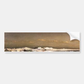 Adesivo De Para-choque Congele em calotes polares de flutuação do mar |