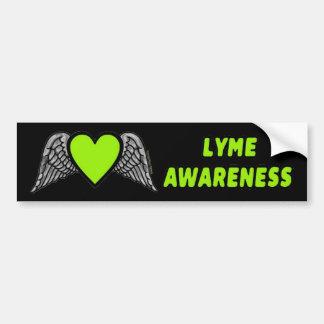 Adesivo De Para-choque Coração/asas… Lyme
