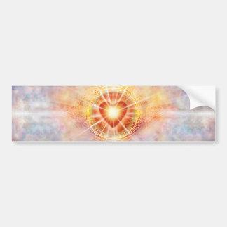 Adesivo De Para-choque Coração H038 celestial