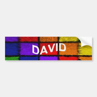 ADESIVO DE PARA-CHOQUE DAVID
