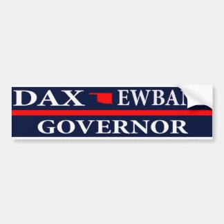 Adesivo De Para-choque Dax Ewbank para o governador de Oklahoma