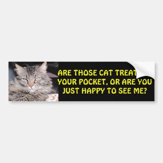 Adesivo De Para-choque Deleites do gato em seu bolso? MEME