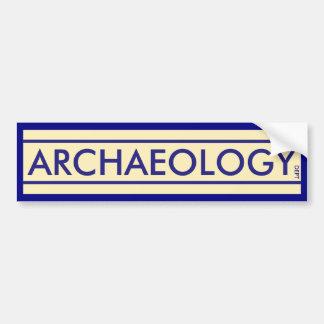 Adesivo De Para-choque Departamento da arqueologia