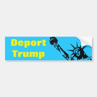 Adesivo De Para-choque Deport GOP do autocolante no vidro traseiro de