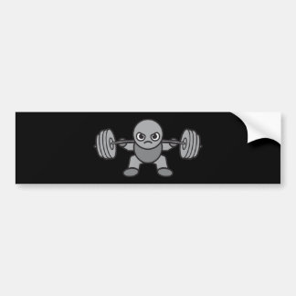 Adesivo De Para-choque Dia do pé - ocupa - Weightlifter de Kawaii