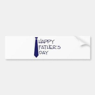 Adesivo De Para-choque Dia dos pais feliz