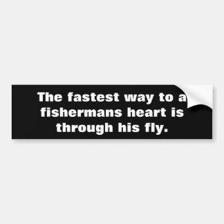 Adesivo De Para-choque Dizer do pescador