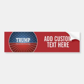 Adesivo De Para-choque Donald Trump - presidente 2016