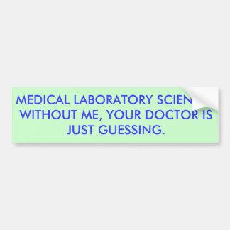 Adesivo De Para-choque Doutor Guessing de MLS