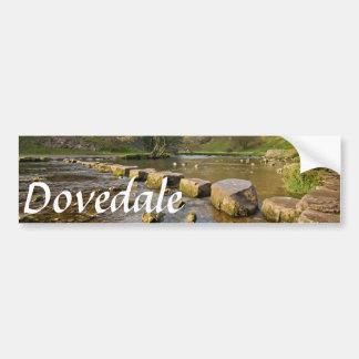 Adesivo De Para-choque Dovedale, foto máxima da lembrança do distrito de