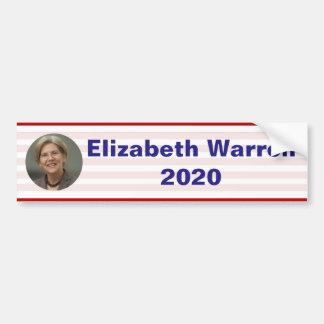 Adesivo De Para-choque Elizabeth Warren - 2020