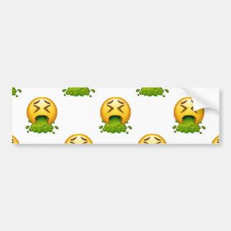 Adesivo De Para-choque emoji que puking