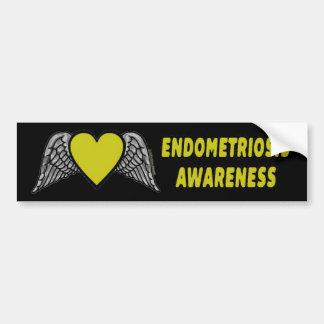 Adesivo De Para-choque Endometriose do coração/asas…