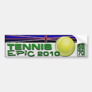 Adesivo De Para-choque Epopeia do tênis