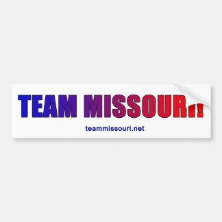 Adesivo De Para-choque Equipe Missouri orgulhoso!