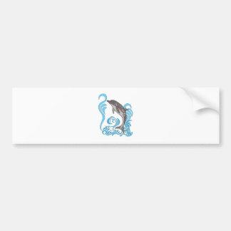 Adesivo De Para-choque Espirro do golfinho