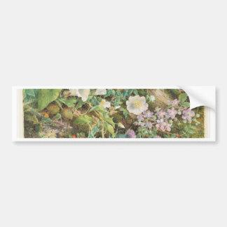 Adesivo De Para-choque Estudo da flor - John Jessop Hardwick
