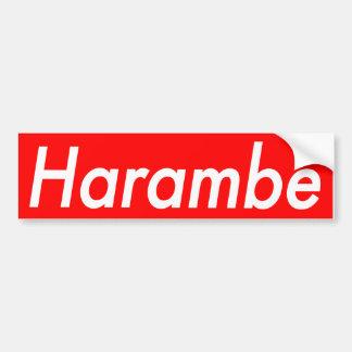 Adesivo De Para-choque Etiqueta de Harambe