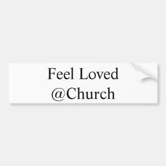 """Adesivo De Para-choque """"Etiqueta do @Church amado sensação"""""""