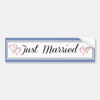 Adesivo De Para-choque Etiqueta do recem casados