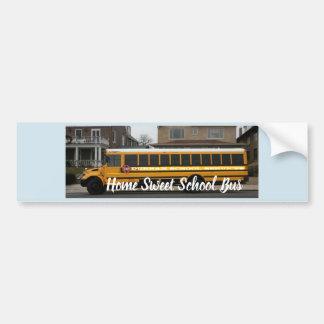 Adesivo De Para-choque Etiqueta doce Home do auto escolar