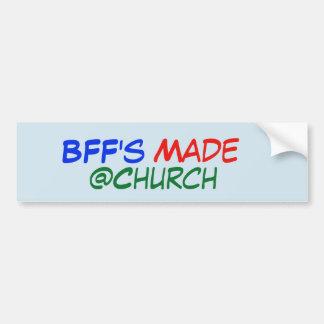 Adesivo De Para-choque Etiqueta feita do @Church de BFF