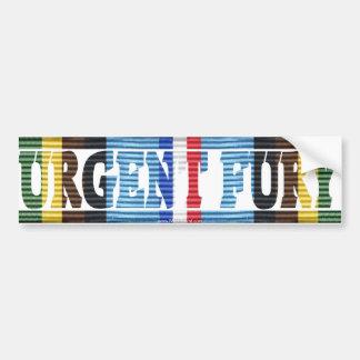 Adesivo De Para-choque Etiqueta urgente do veterinário AFEM de Grenada da