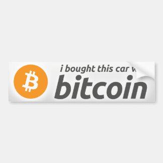Adesivo De Para-choque Eu comprei este carro com autocolante no vidro