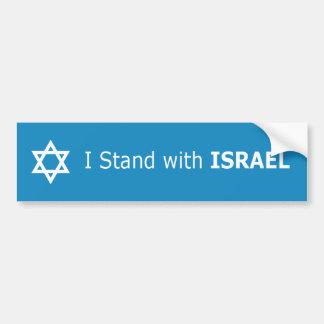 Adesivo De Para-choque Eu estou com estrela de David de ISRAEL