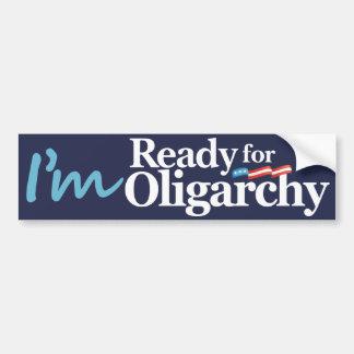 Adesivo De Para-choque Eu estou pronto para a paródia de Hillary da