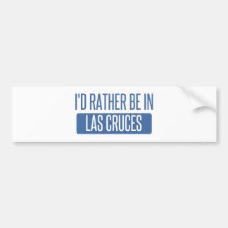 Adesivo De Para-choque Eu preferencialmente estaria em Las Cruces