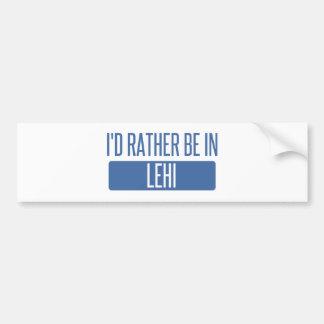 Adesivo De Para-choque Eu preferencialmente estaria em Lehi