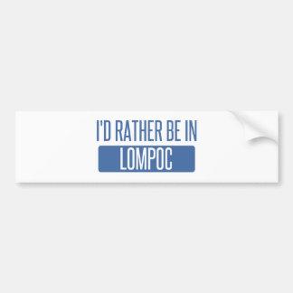 Adesivo De Para-choque Eu preferencialmente estaria em Lompoc