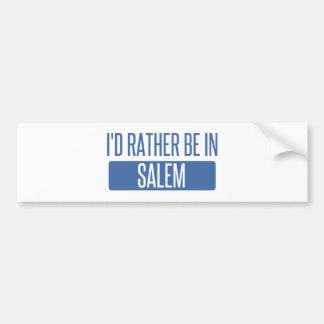 Adesivo De Para-choque Eu preferencialmente estaria em MÃES de Salem