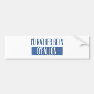 Adesivo De Para-choque Eu preferencialmente estaria em O'Fallon