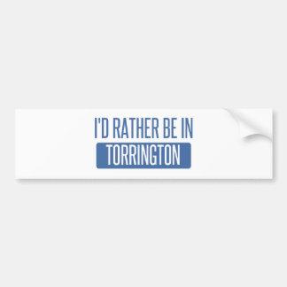 Adesivo De Para-choque Eu preferencialmente estaria em Torrington